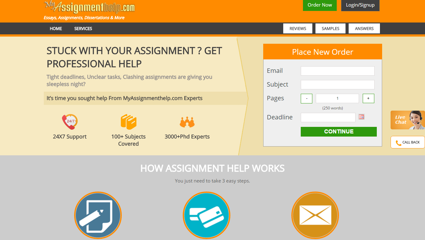 take help from myassignmenthelp com in writing If you are looking for anaffordable nursing assignment writing service that does not compromise on the quality and relevancy of your assignments, you can trust my assignment services get quality nursing assignment help and achieve high distinction every time when you take assistance from my assignment services.