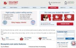 EssayDot.com Review