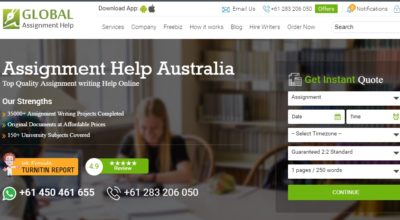 GlobalAssignmentHelp.com.au Review